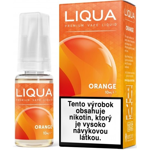 LIQUA pomaranč (Orange) 10ml