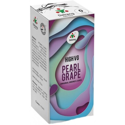 DEKANG HVG hrozno s mätou (Pearl grape) 10ml